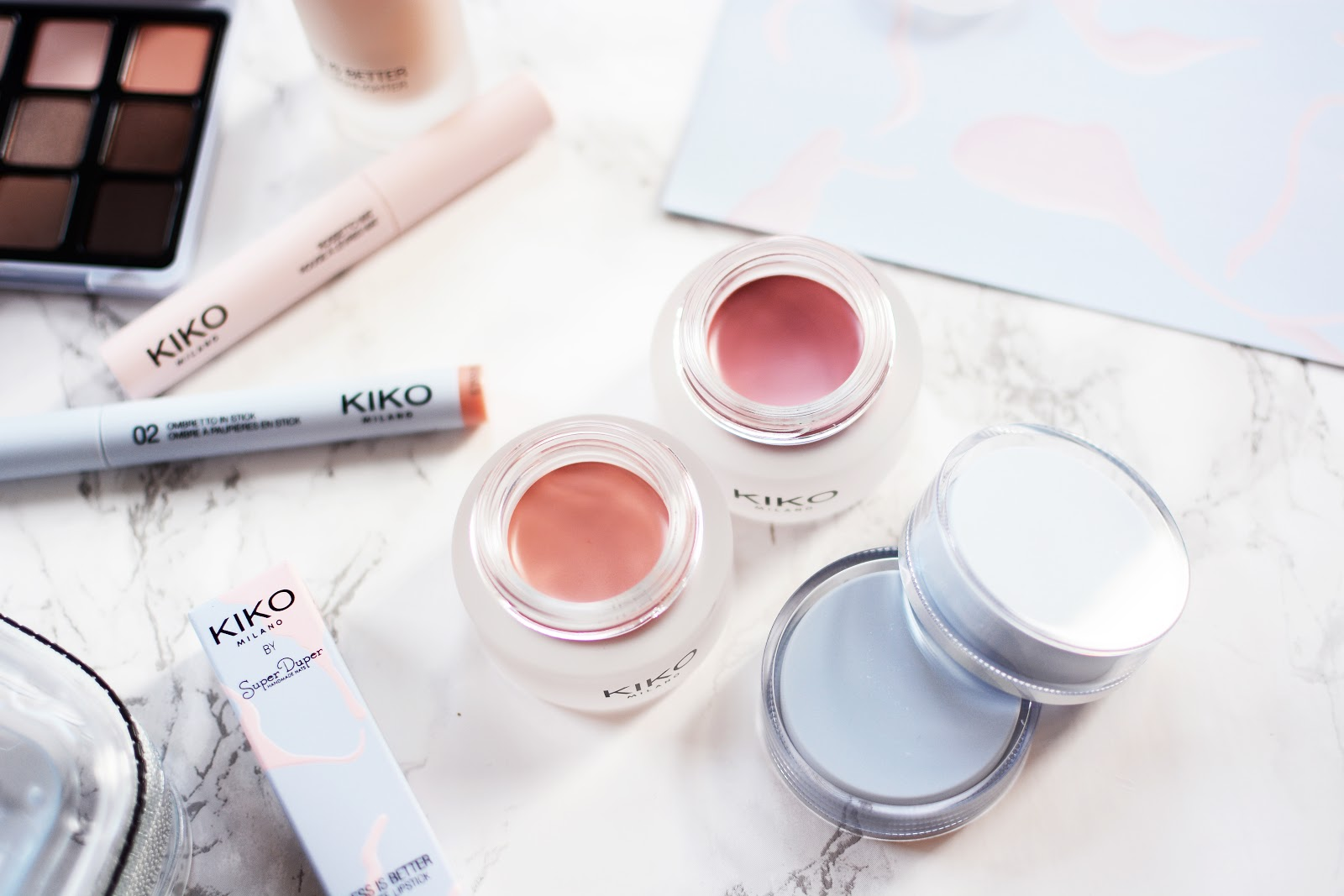 spring beauty trends, KIKO's Less Is Better Collection, no make up make up look, cream blushers