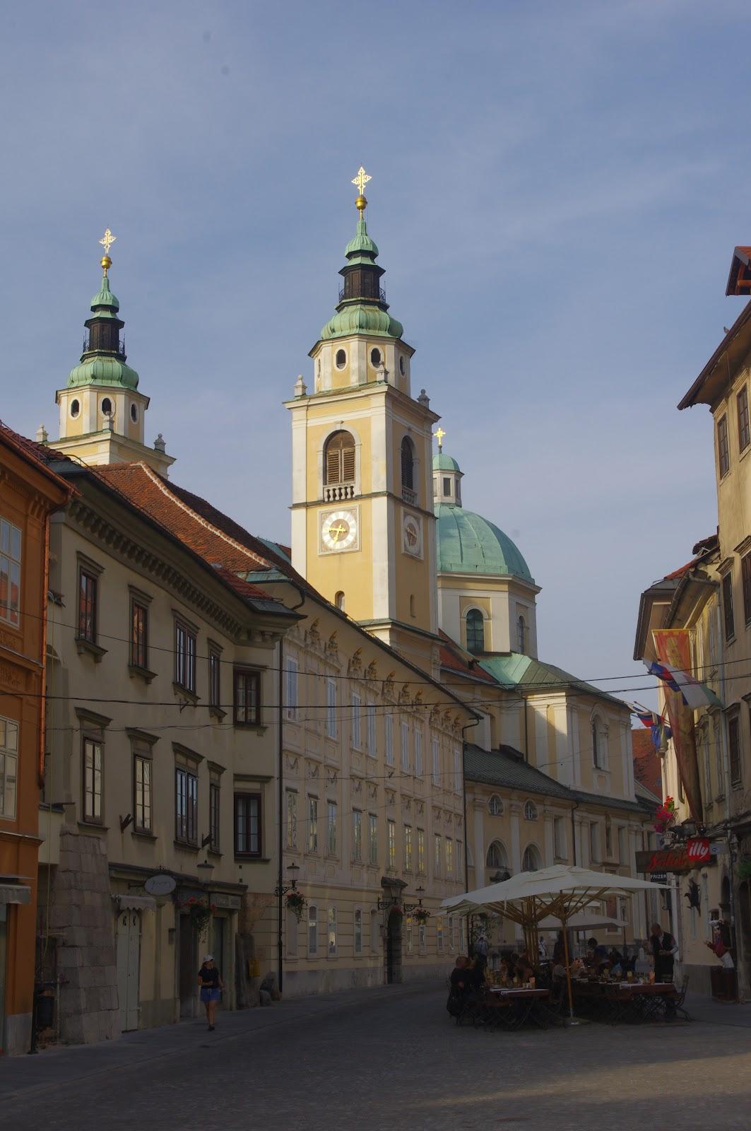 喜歡大自然: 斯洛維尼亞首都-盧比安納(LJUBLJANA)