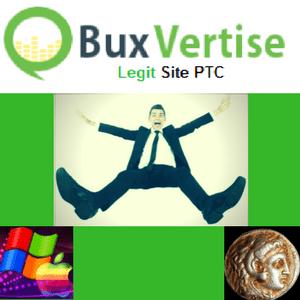 Gana dinero con BuxVertise PTC, estrategia para conseguir dinero, referidos.