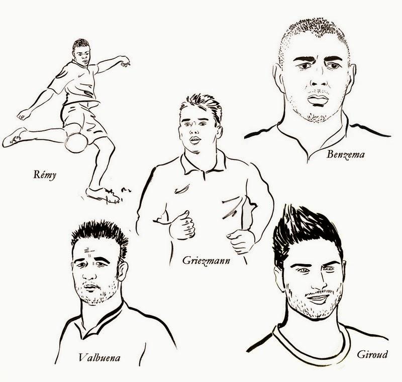 Coloriage Football À Imprimer Gratuit | Liberate