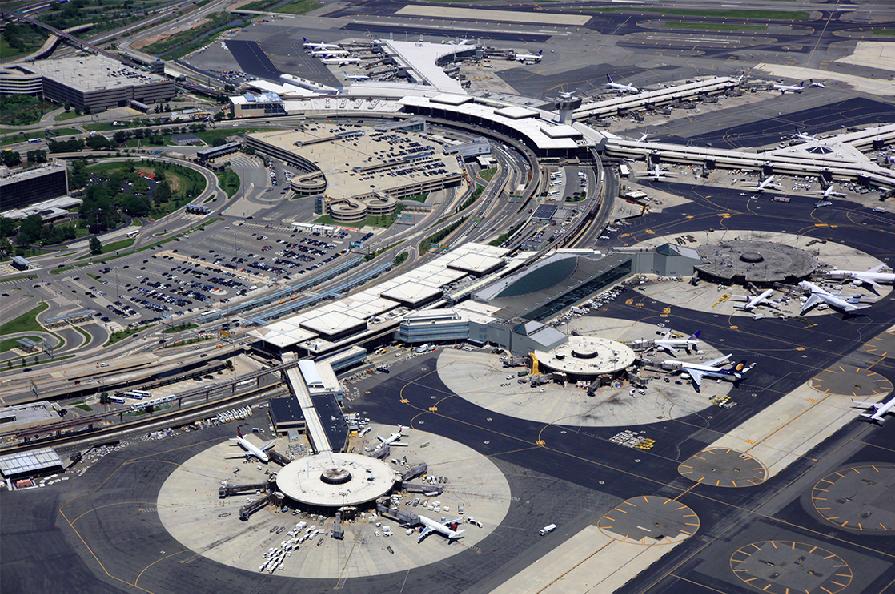 Aeroporto New York Newark : Aeroportos de nova york dicas