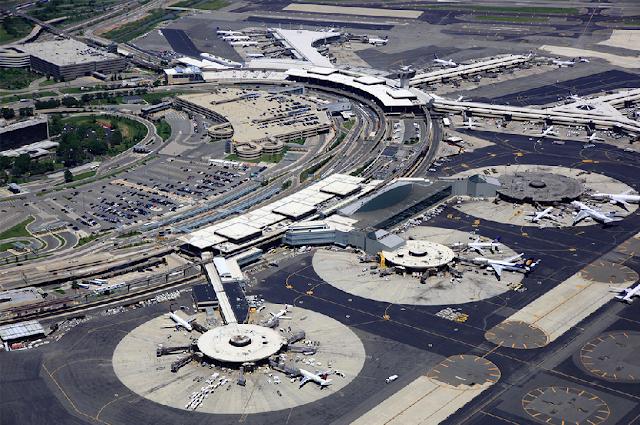Aeroporto Internacional Newark em Nova York