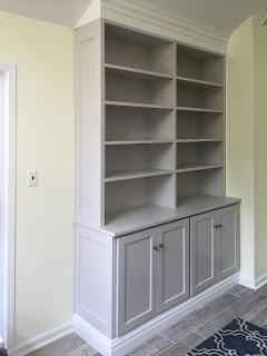 Classic hutch style cabinet