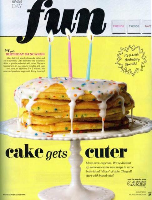 Birthday Cake Pancakes Rachael Ray