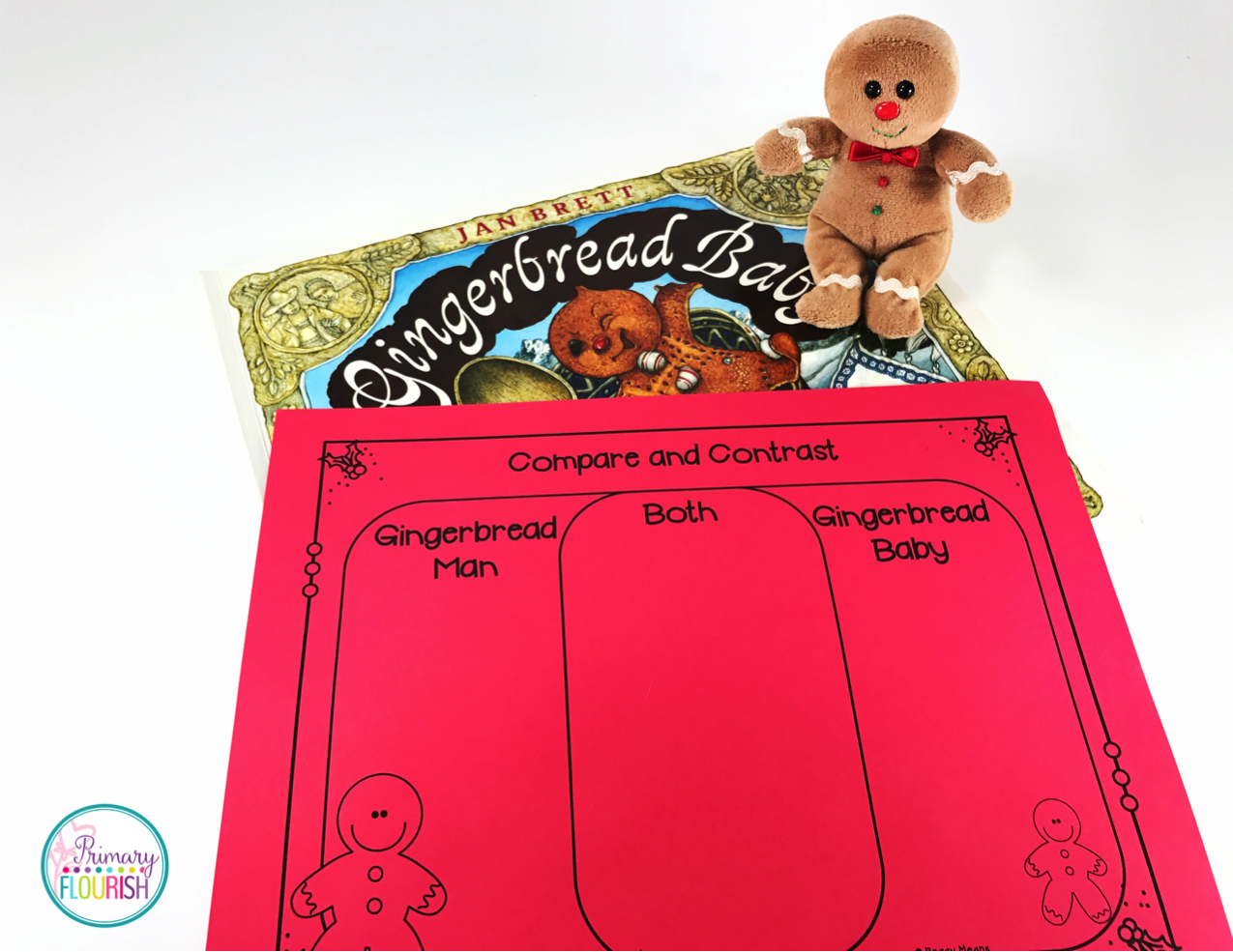 Gingerbread Venn Diagram Single Line Telephone Wiring Baby Primary Flourish