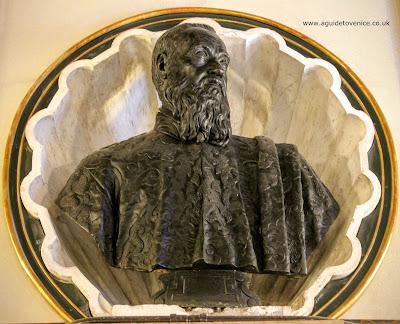 Bust of Tomasso Rangone by Alessandro Vittoria, Ateneo Veneto, Venice
