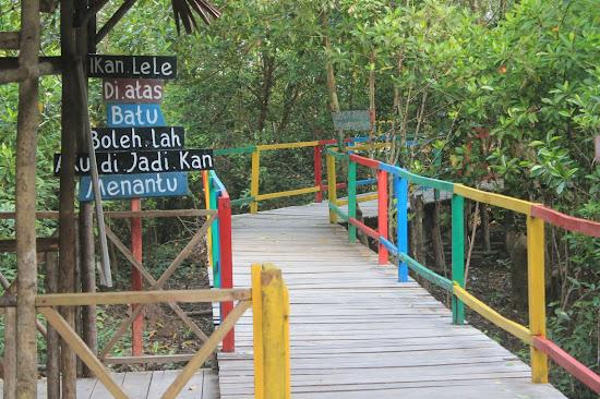 Pemandangan Mangrove Park bakau Besar 10 - Catatan Nizwar ID