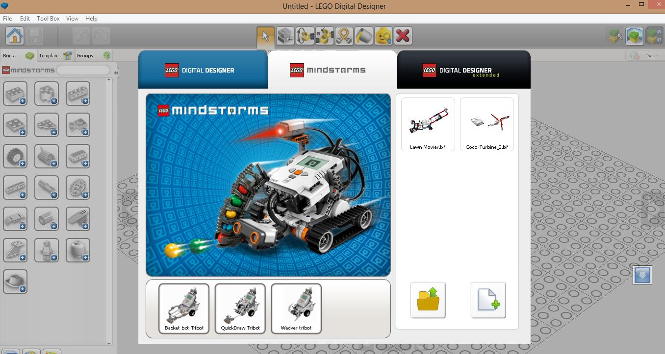 Easy projects for Lego Mindstorms EV3 Robot: LEGO Digital