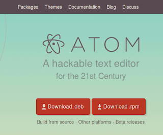 download atom for linux