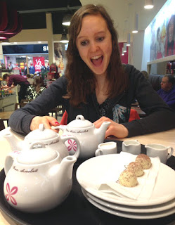 Lorna also loves tea - can you guess?