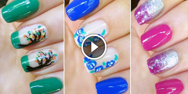 Nail DIY - How To Apply These Easy And Quick Nails Art Designs