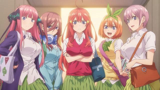 Gotoubun no Hanayome Episode 1-12 Subtitle Indonesia