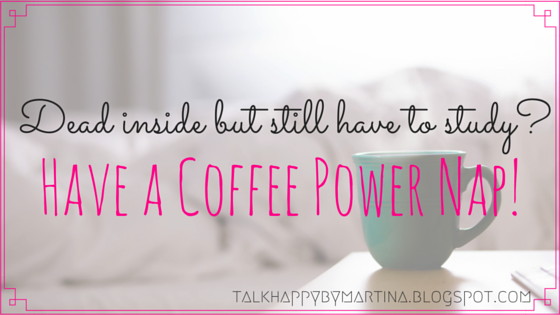 Have a coffee power nap