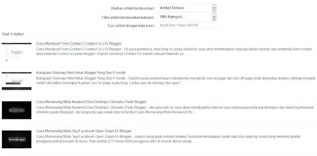 Sitemap Blog Yang Valid AMP