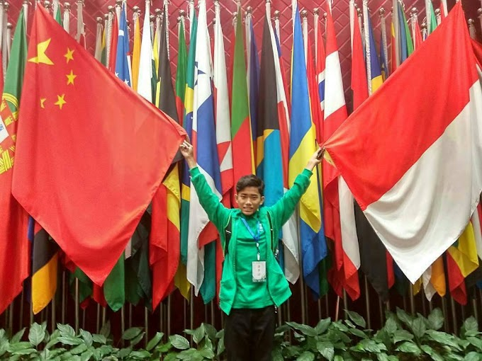 Taufik, Bocah Desa yang Melanglang Buana Hingga Negeri China