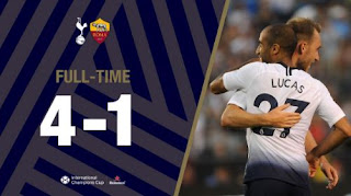 AS Roma vs Tottenham Hotspur 1 - 4