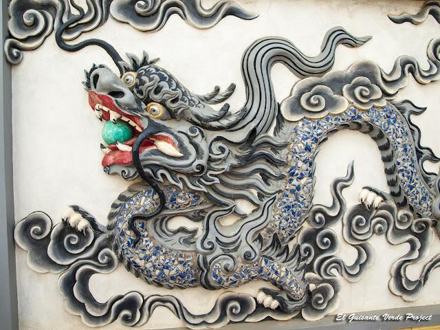 Dragón del Templo Do en Bac Ninh - Vietnam por El Guisante Verde Project