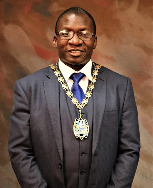 Clr. Tunde Ojetola Elected The New & First black Mayor of Thurrock Council, London!