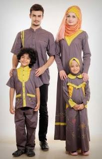 Model baju sarimbit simpel untuk lebaran