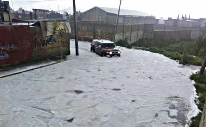 clima, auto, inundación, granizo