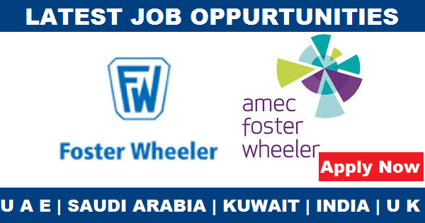 Amec Foster Wheeler Leading Company Job Openings Qatar