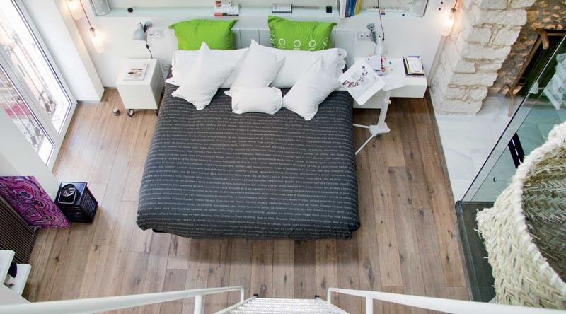 camera da letto moderna appartamento LAGO ALicante