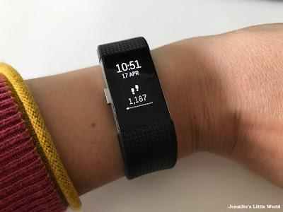Fitbit on my wrist