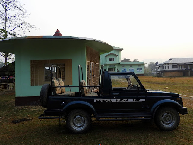 Kaziranga National Park, jeep safari