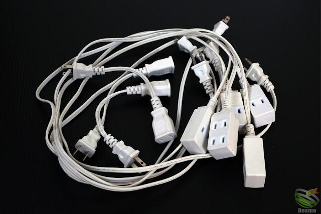 セリア 電源延長コード
