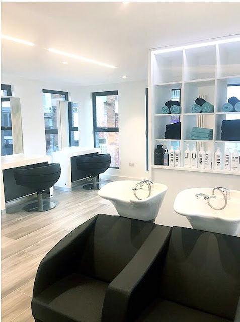 Melissa Timperley salons, chic decor, salon decor, hair blog