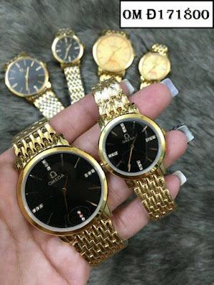 đồng hồ cặp đôi omega đ171800