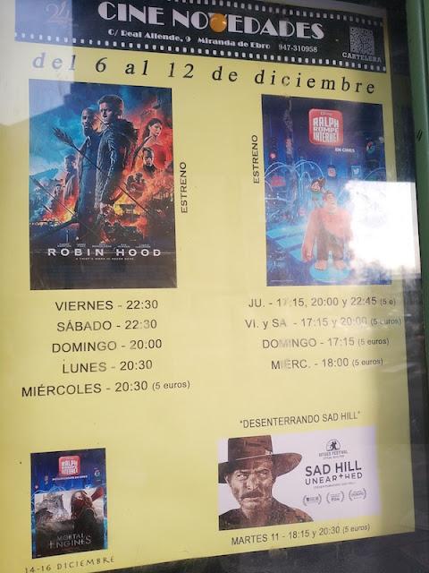 cartelera cine novedades