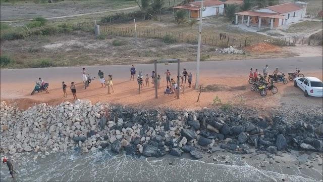 A pré candidata a prefeita de Grossos em 2020 Cinthia Sonale implanta uma simples ideia que ajuda ao turismo local
