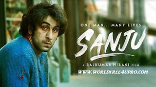 Sanju (2018) Hindi 720p HDRip x264 DD 5.1 Size 1.4 GB on worldfree4upro,sanju movie download