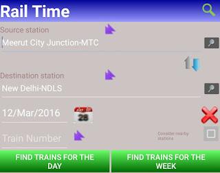 Fill Source & Destination Station