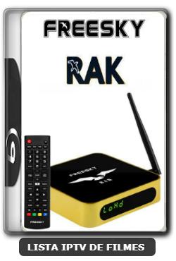 Freesky RAK Nova Atualização Melhorias SKS 63w V2622 - 11-01-2020