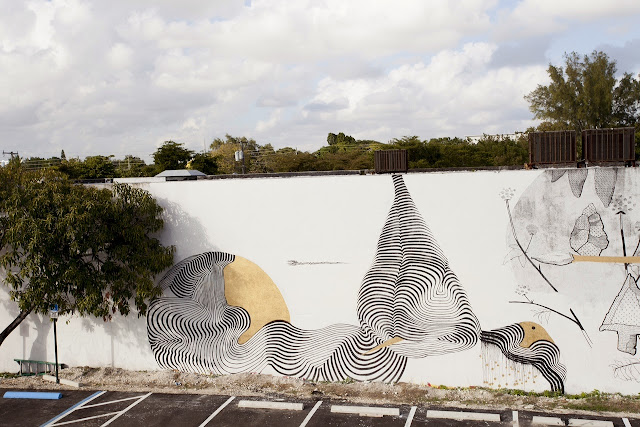 Street Art Collaboration By Pastel and 2501 in Wynwood, Miami For The Mirorless Project. 3