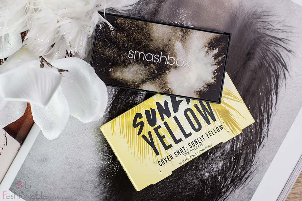 Smashbox Cover Shot Sunlit Yellow Verpackung Flatlay