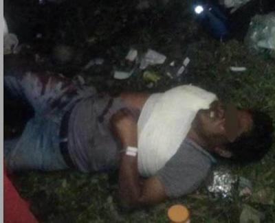 Hombre se queda dormido sobre las vías y tren le corta un brazo en Medellín