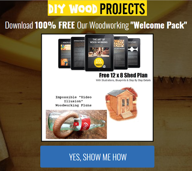 100% Free Woodworking Welcome Pack