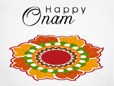 Simple minimal onam 2015 wish images
