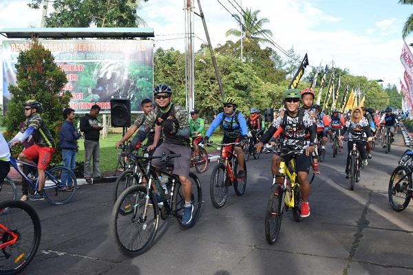 2.000 Bikers Se-Malang Raya Meriahkan Funbike Brigif PR 18 Kostrad