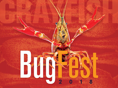 BugFest ad with crayfish
