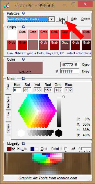 Cara Mengetahui Nama & Kode Warna Dari Gambar Secara Offline