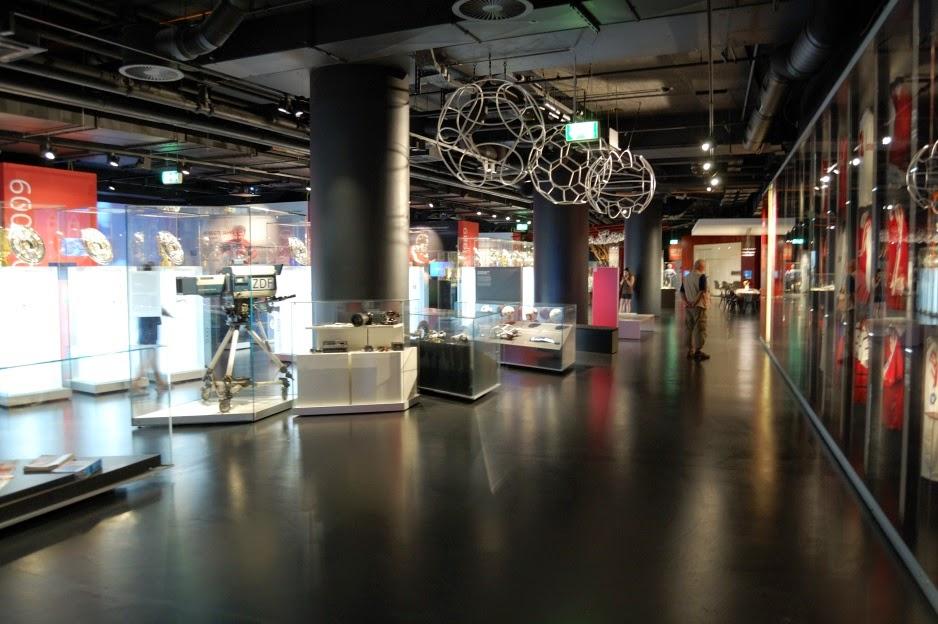 Основной зал экспозиции