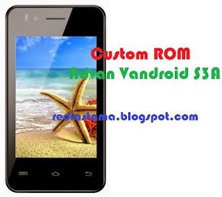 Custom ROM Advan S3A