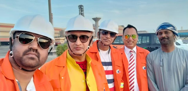 ओमान में अरब और भोजपुरी की टीम