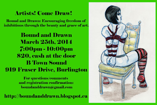 Bound and Drawn: March