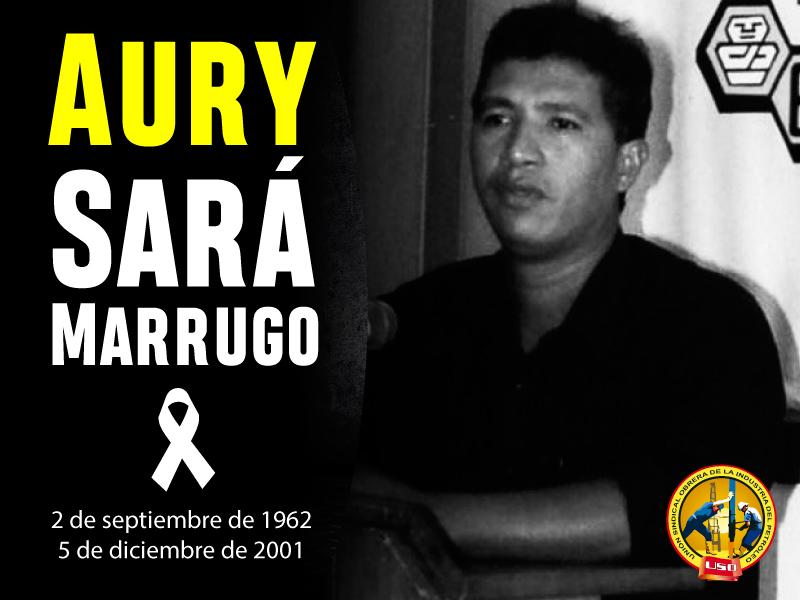 La USO conmemora 16 años levantando la bandera de lucha de Aury Sará Marrugo