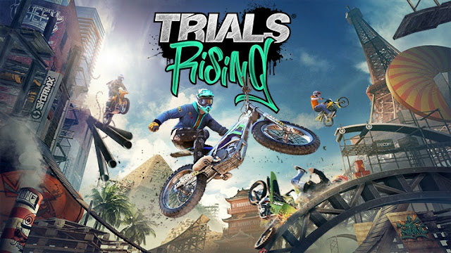 """Trials Rising"" Game đua xe Motor thể thao 2.5D 2019"